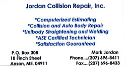 Jordan Collision Repair, Inc.