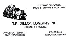 TR Dillon Logging Inc.